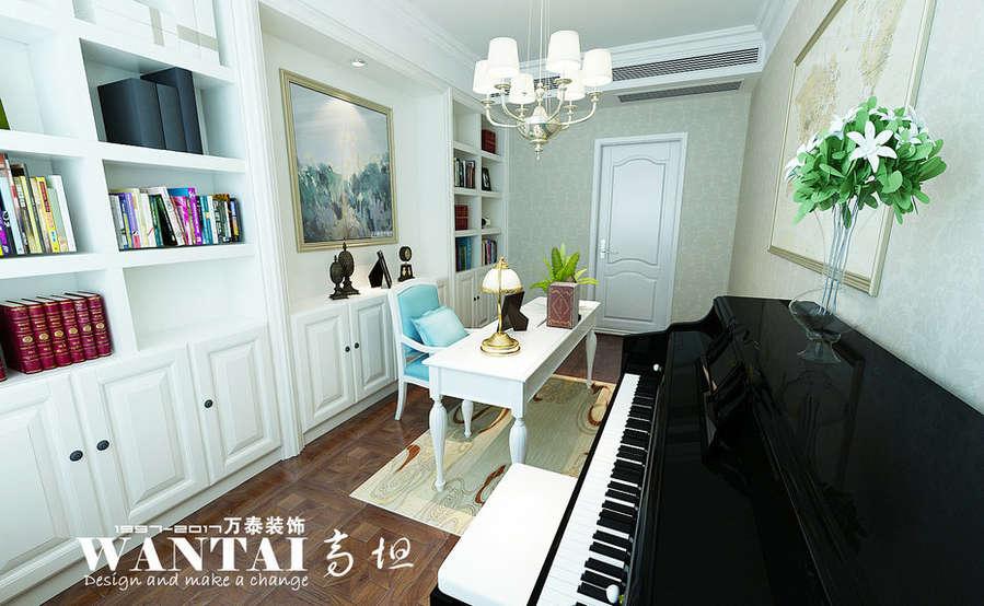 济宁荷韵花园165平四室两厅欧式风格装修设计——孙漾漾图片