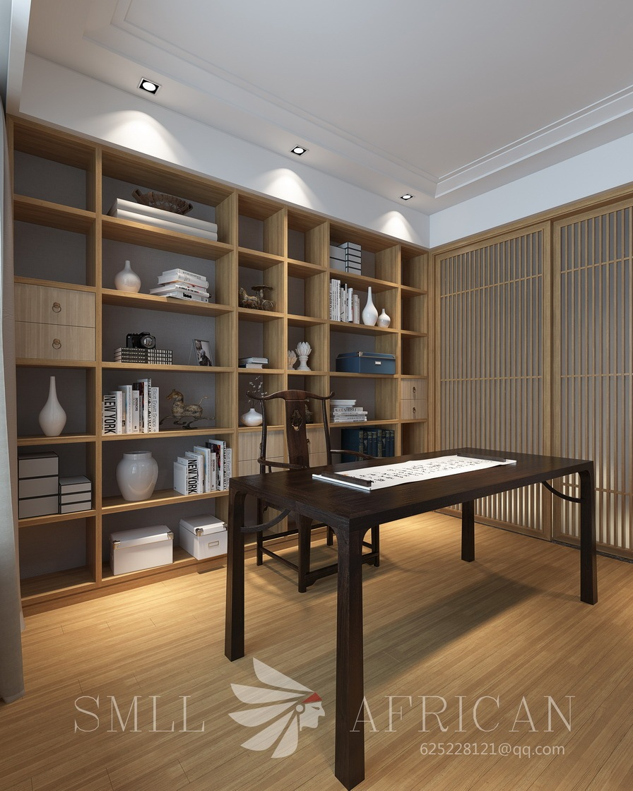 原木清风|空间|室内设计|小非洲wang - 原创作品图片