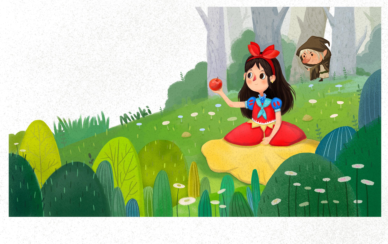 白雪公主(已商用)图片