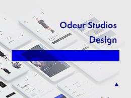 Odeur Studios APP界面设计