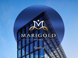 纳米比亚(南非)玛丽德酒店logo/VI设计
