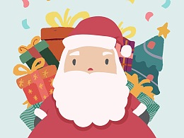 圣诞节系列海报