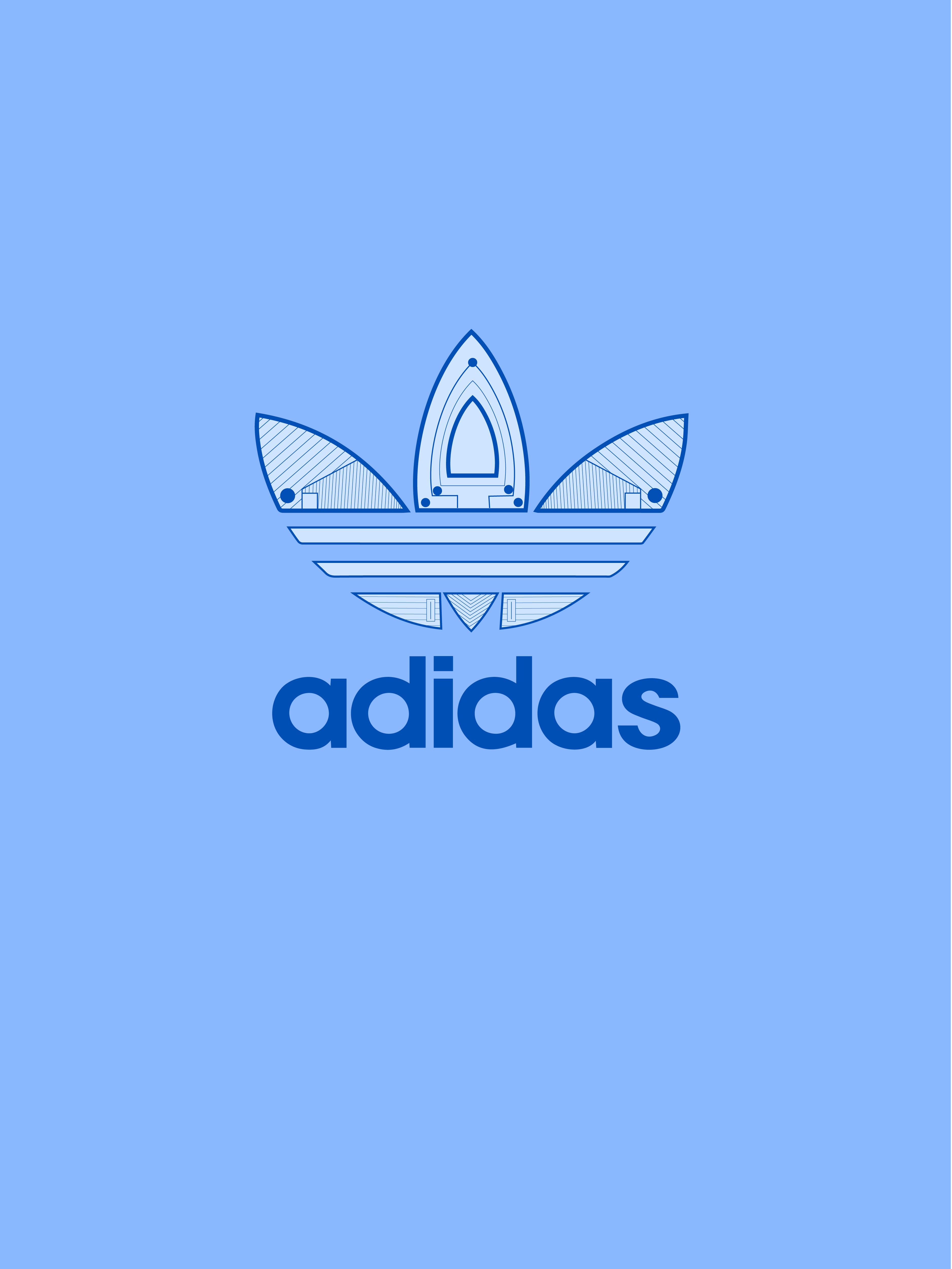 阿迪logo