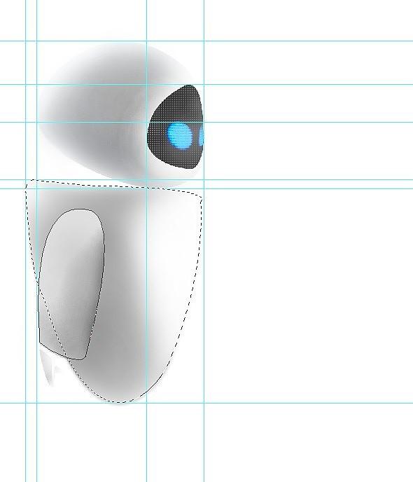 我的可爱机器人-伊娃的水晶球|插画|涂鸦/潮流|信阳美女图片