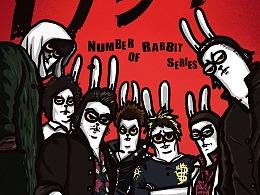 Number兔    电影海报系列——热血兔子