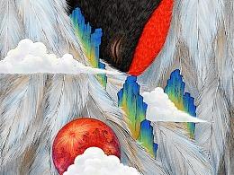 《玄鳥》系列插畫