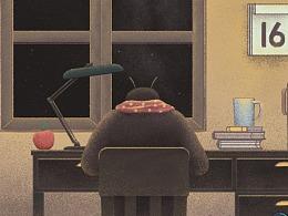 《冬日的诗》一部围绕诗歌产生联想的动画作品