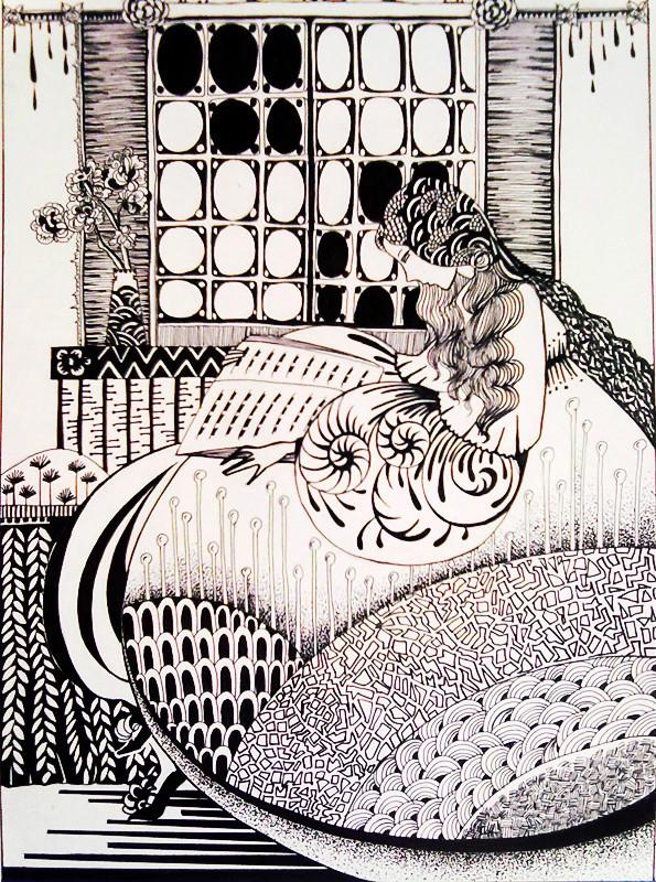 装饰画手绘系列