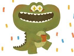 小鳄鱼的生日