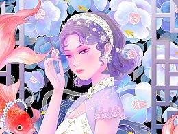 国潮旗袍系列图-3