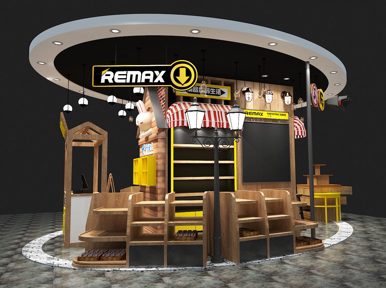 remax商场中岛 空间 展示设计  阿祯 - 原创作品