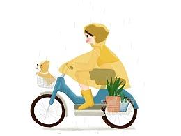 24节气动态(雨水)
