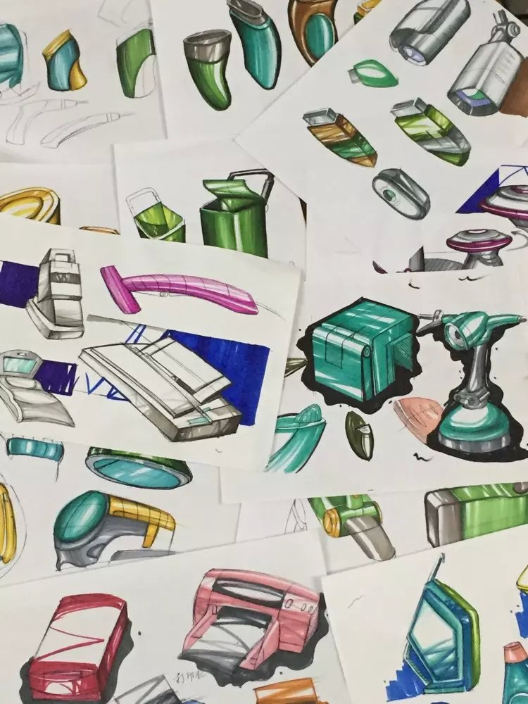 产品手绘|工业/产品|其他工业/产品|每天一百分