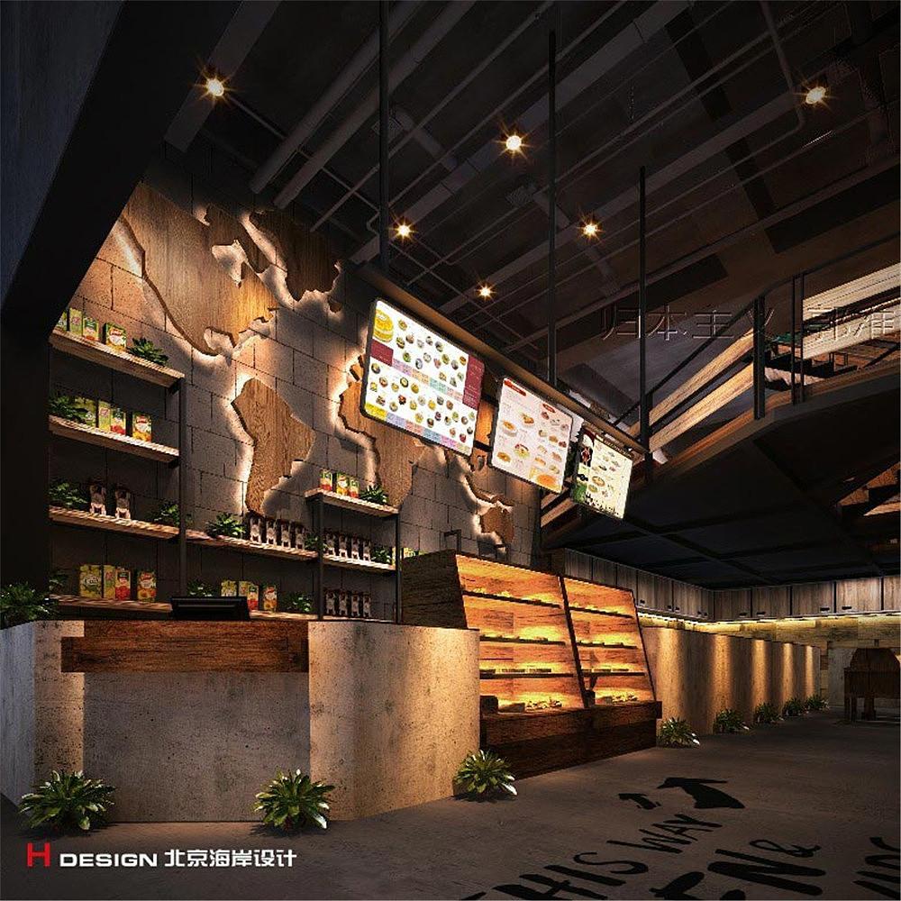周口河南漫餐饮案例设计地产北京海岸设计建筑师从设计到咖啡图片