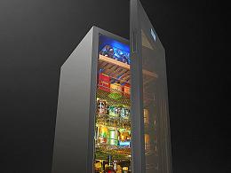 海尔-红酒柜详情页设计/冰吧/冰箱/电器/电商设计