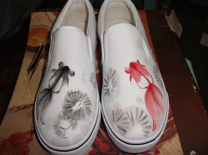 手绘鞋系列!