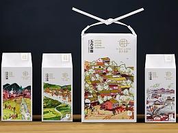 香港:锦华食品包装设计