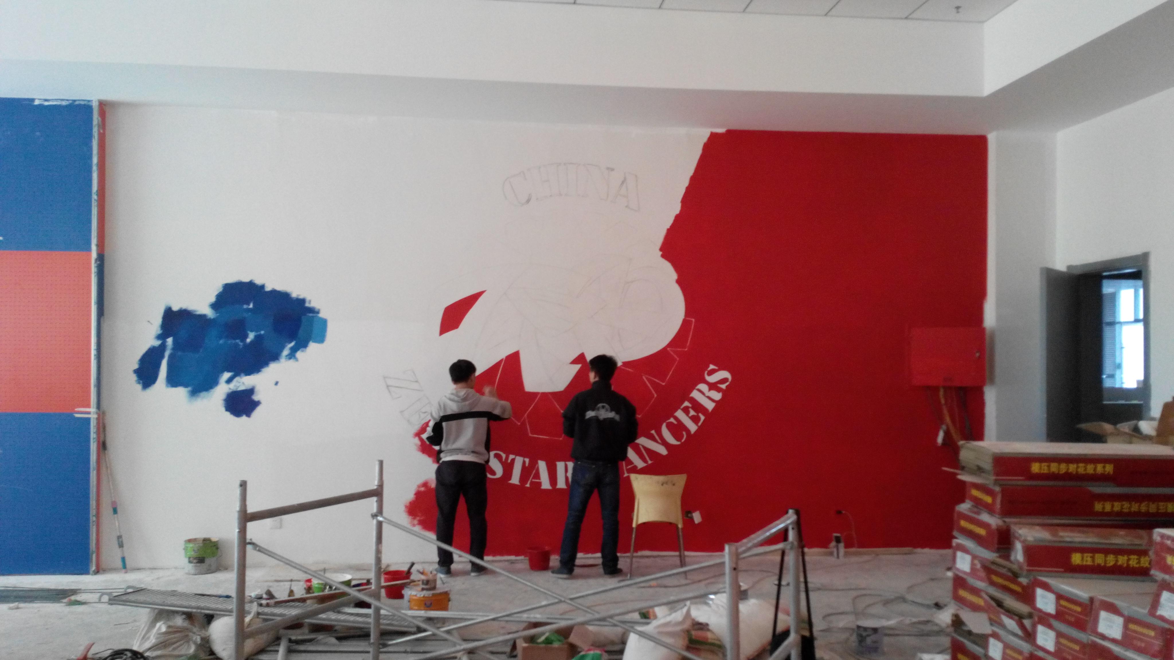 青岛绘美时尚装饰工程有限公司墙绘案例分享6