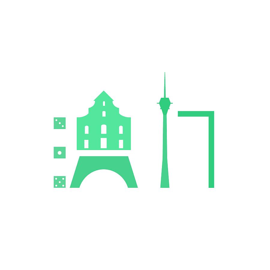 27个图形主要城市字体【全国设计】|题目/图平面设计技能节比赛名字图片
