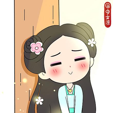赵丽颖古装漫画版集合@少女凉|动漫|单幅漫画|亲爱的图片