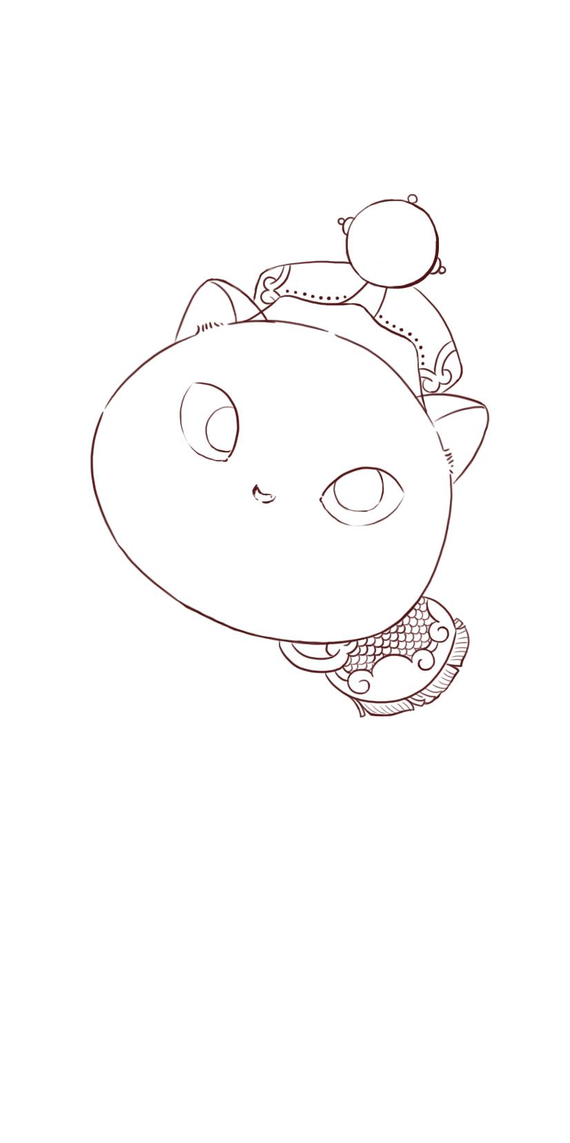 画出豌豆花的基本结构