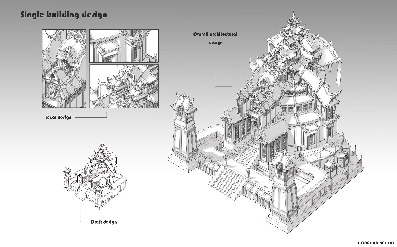 潇湘楼单体建筑设计