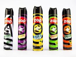 香港合子品牌設計作品   ZAP品牌形象设计