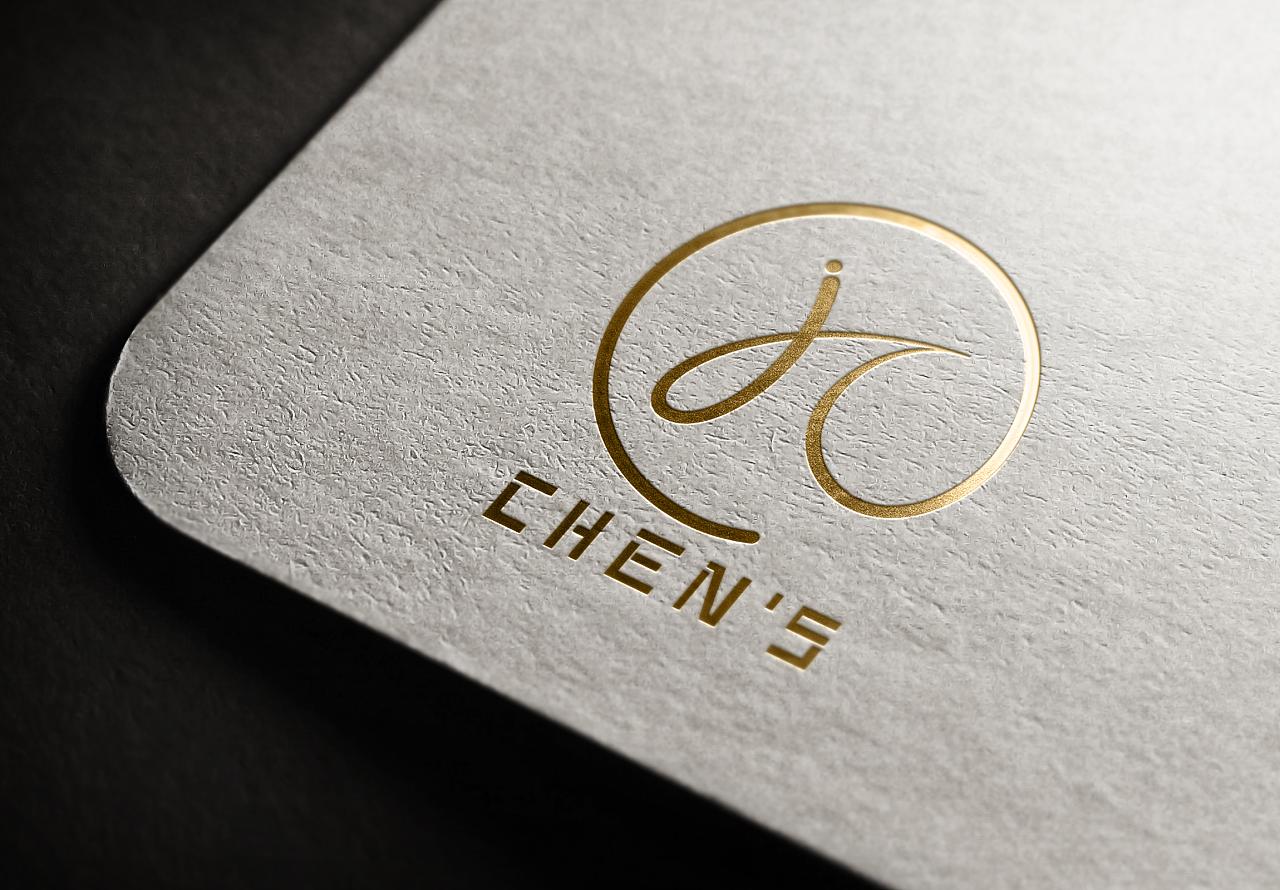 个人logo和名片设计     图片