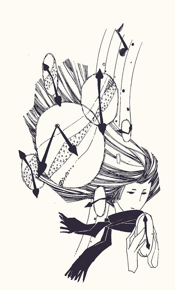 好看的插图手绘简笔画