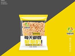 食品包装 锅巴包装 糯米酥 合肥包装设计 安徽包装设计