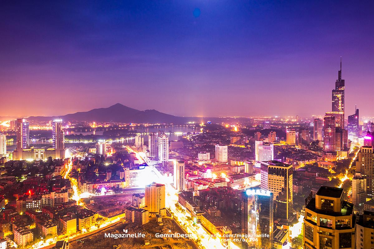 南京夜朦胧~ 摄影 风光 shiqi - 原创作品 - 站酷