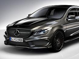 Mercedes-Benz  Keyshot渲染 · Photoshop后期处理