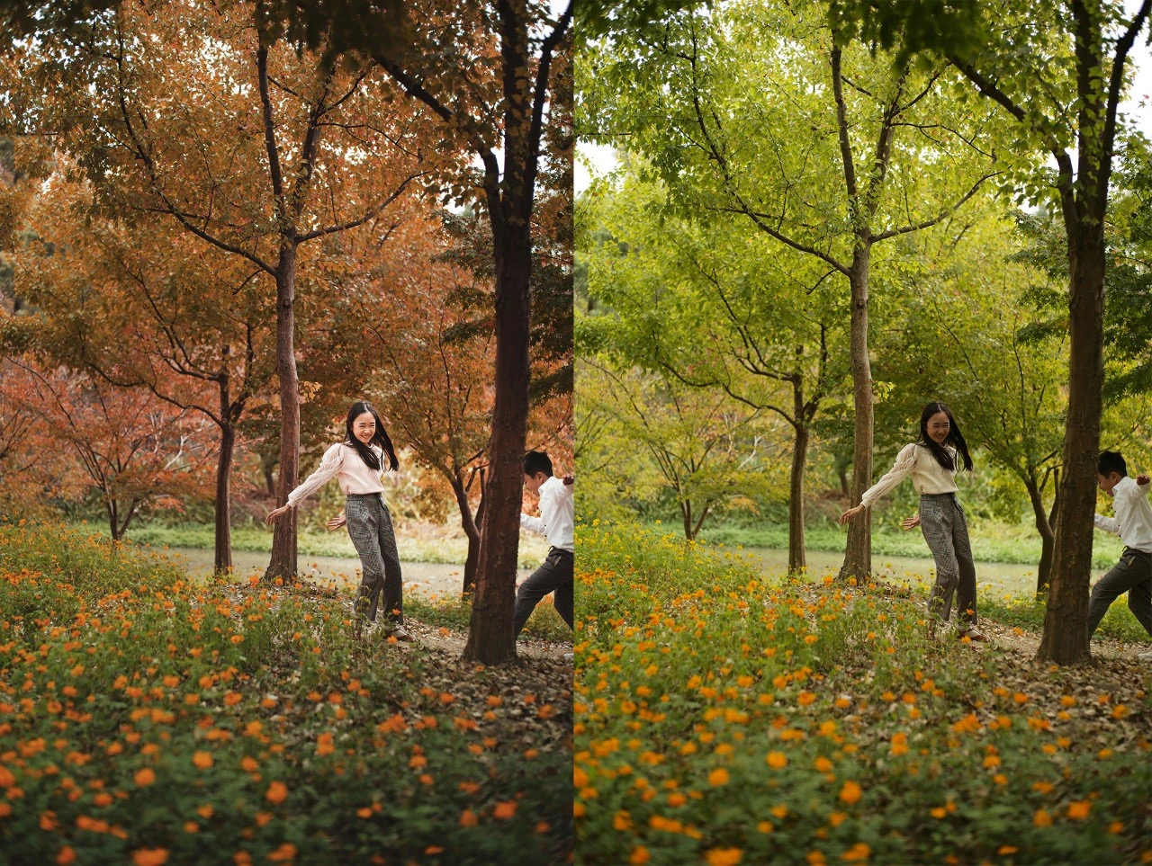 手把手教你在公园拍出秋日怀旧电影大片插图(1)