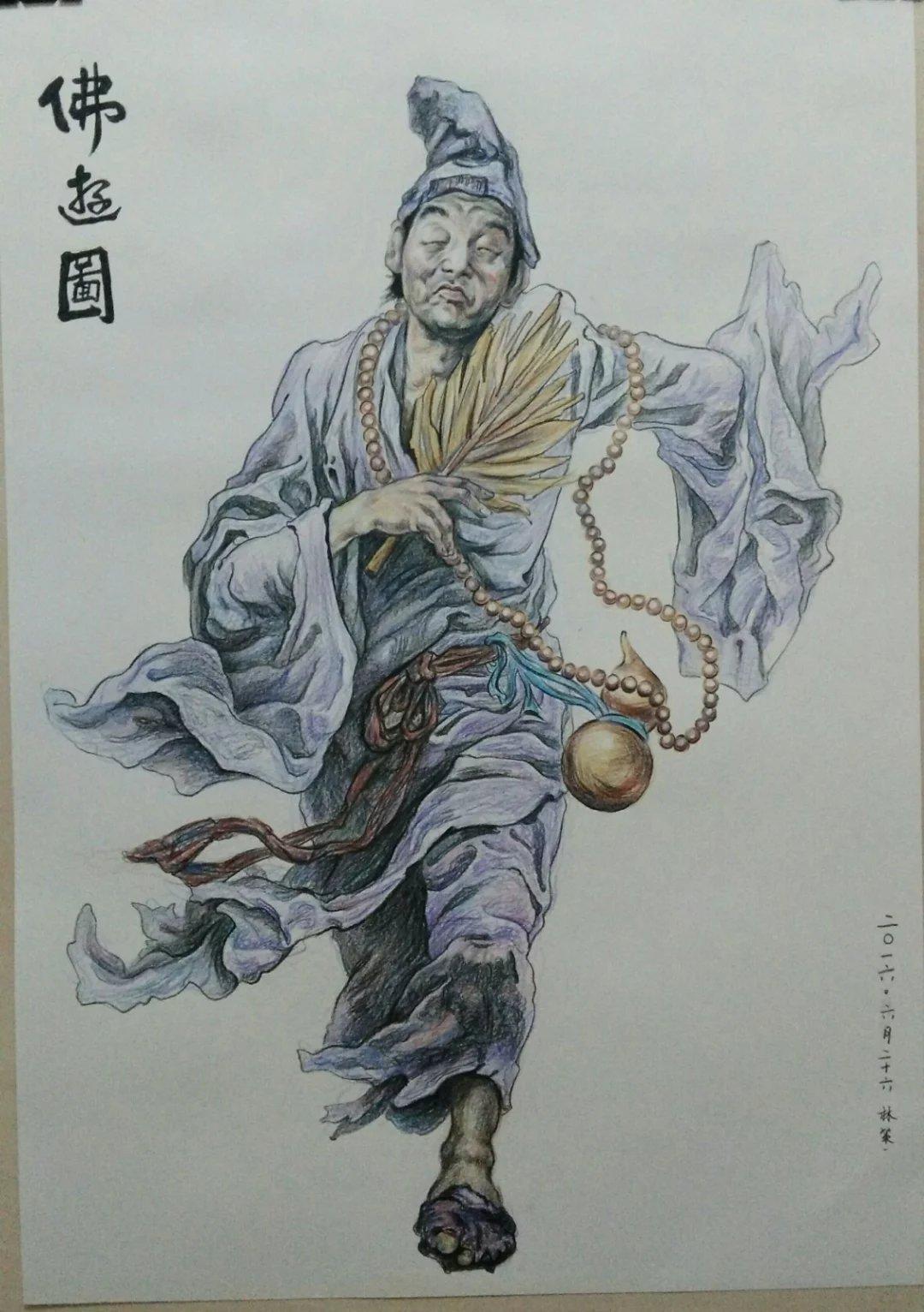 铜葫芦济公戏童子雕塑