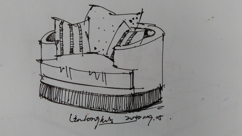 手绘图片 线稿 单体-室内手绘图片线稿单体/家具手绘