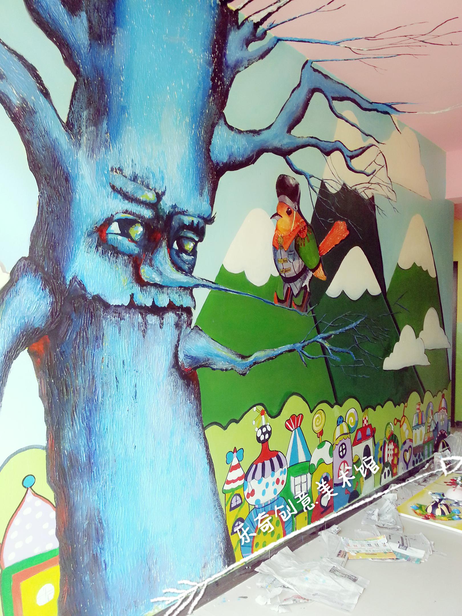 幼儿园半立体墙绘(乐奇创意)图片