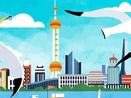 上海-中海环宇荟插画项目