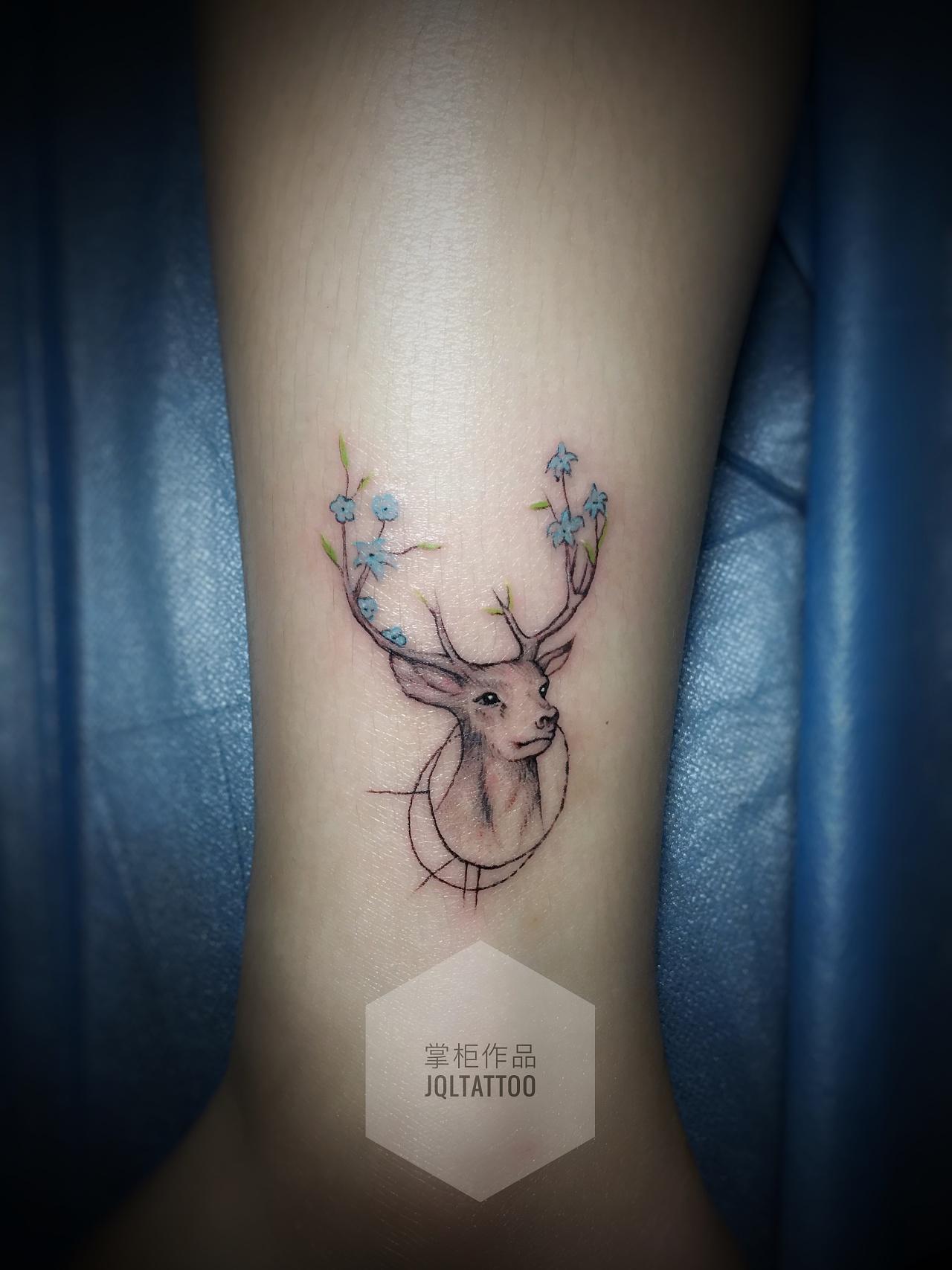 纹身作品|插画|其他插画|金麒麟纹身掌柜 - 原创作品图片