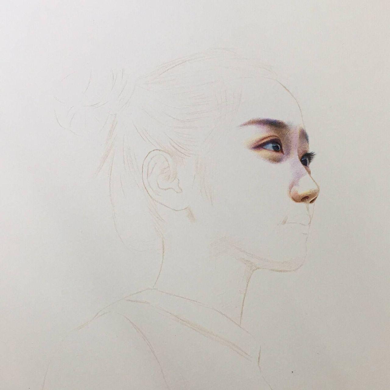 彩铅手绘表白图片大全