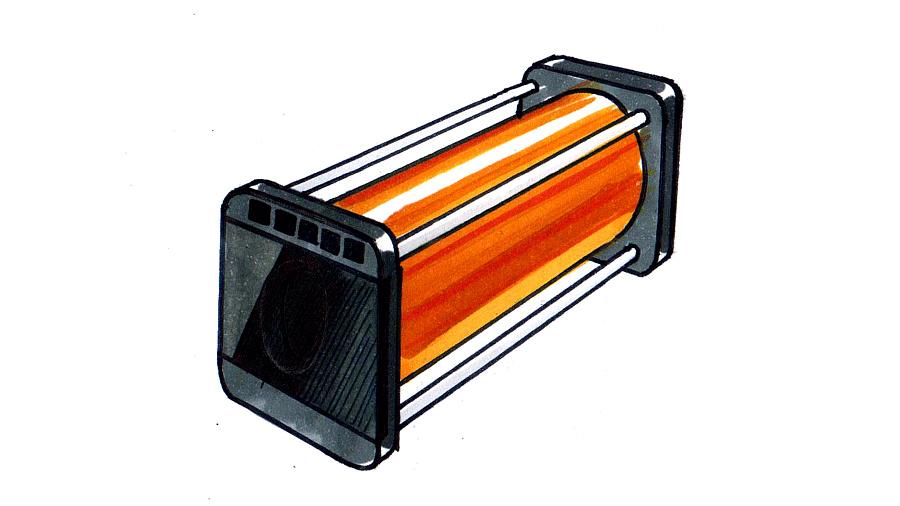 产品手绘技法表现|其他产品|工业/产品|木器008