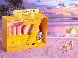 pinkpoint & 7分甜 联名款拍摄