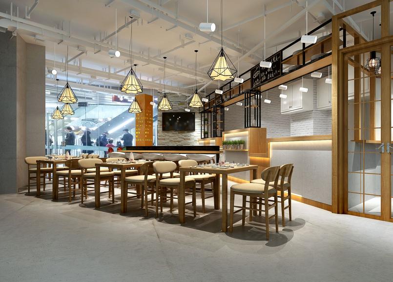 夏之味餐厅-甘肃餐厅装修设计|甘肃教程专业设平面设计餐厅分享图片