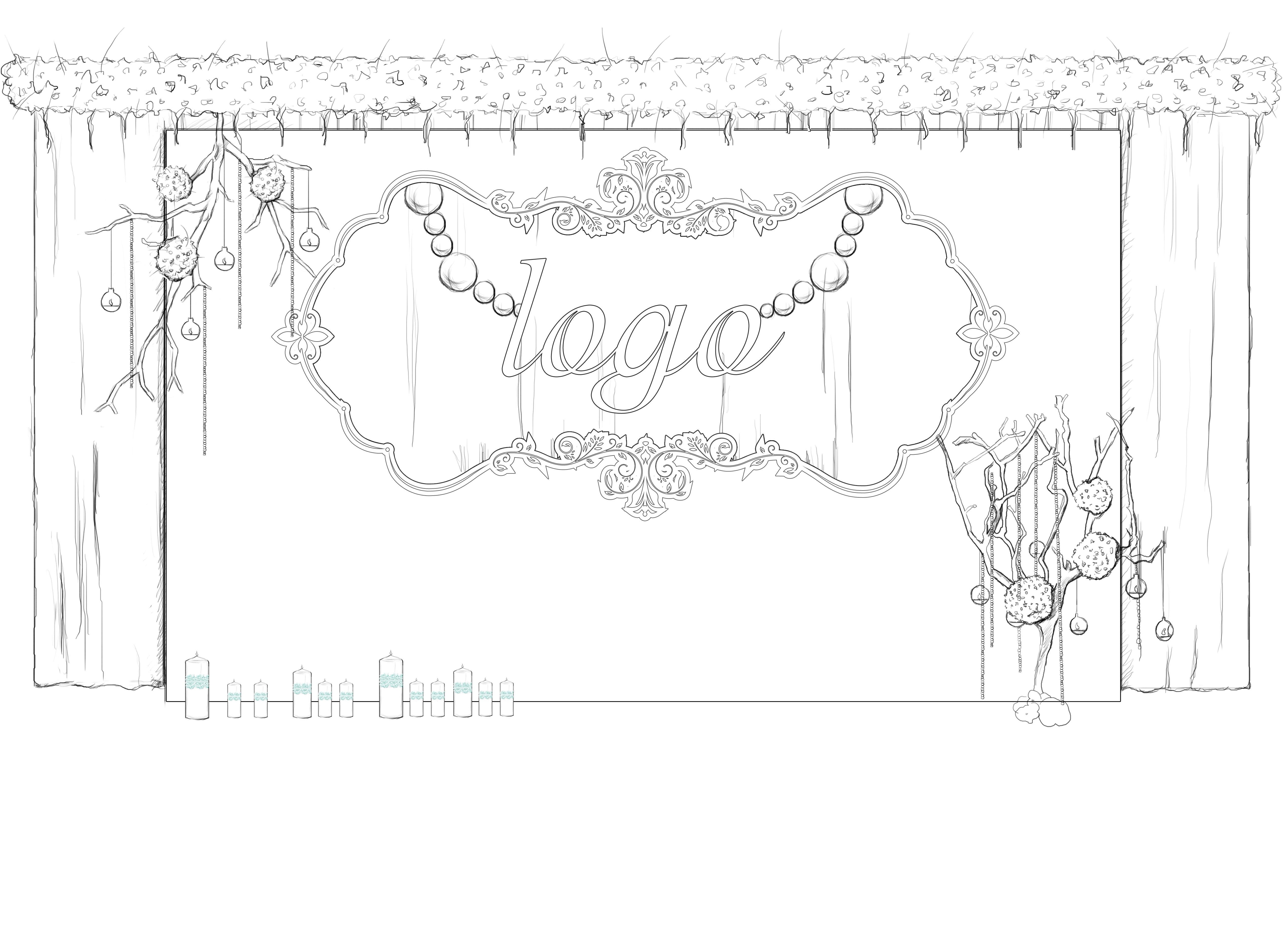 婚礼手绘稿|空间|展示设计 |kangta199079_ - 原创