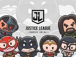 正义联盟插画