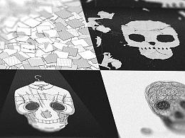 日画1397~1400 骷髅异想II