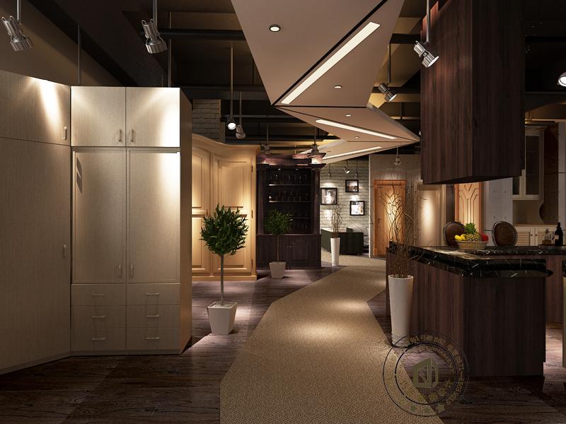 昆明小型办公室装修图片简约办公室设计效果图施工公司