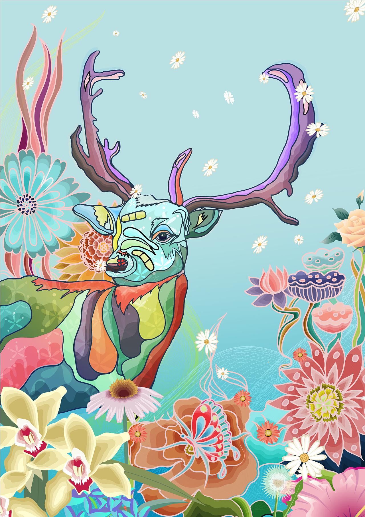手绘板练习|插画|商业插画|飞鱼92 - 原创作品 - 站酷