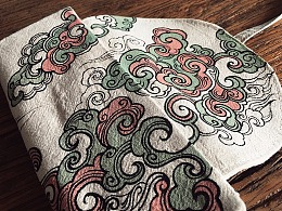 山西古建游记之「垂花遙.云和」手绘文创设计