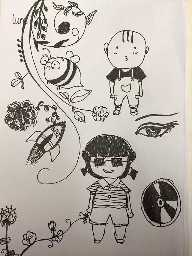 铅笔画|其他|其他|四喜兔子 - 临摹作品 - 站酷