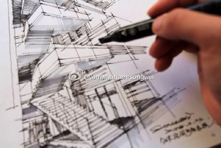 马克笔        室内空间手绘表现,马克笔表现,居住空间,办公空间,公共